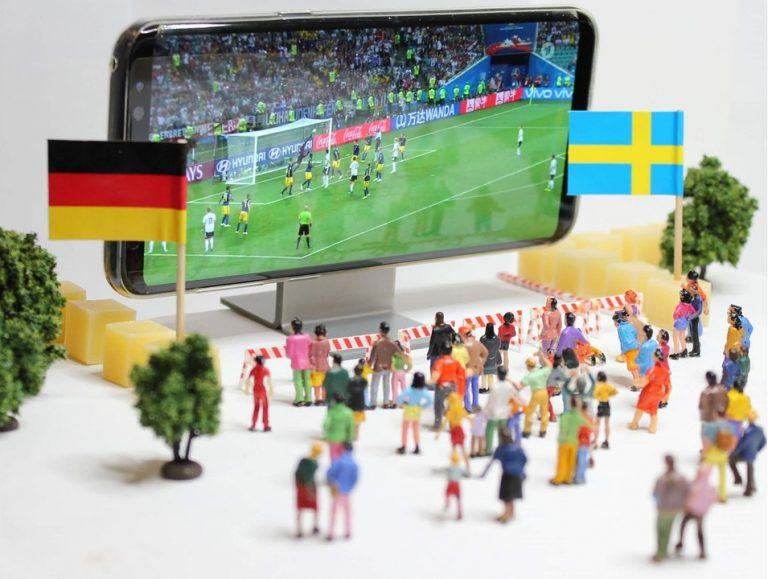 Fútbol al alcance de la mano, o del móvil